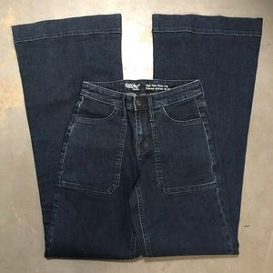 High Rise Wide Leg Jeans NWOT